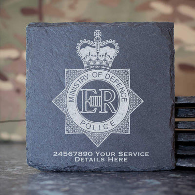 Ministry of Defence Police Slate Coaster