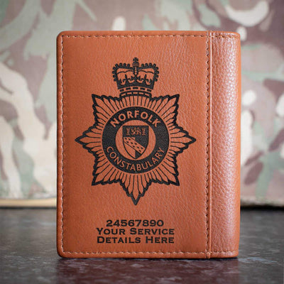 Norfolk Constabulary Credit Card Wallet