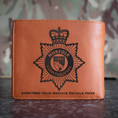 Norfolk Constabulary Leather Wallet