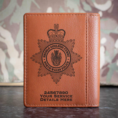 North Wales Police Credit Card Wallet
