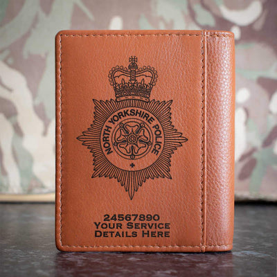 North Yorkshire Police Credit Card Wallet