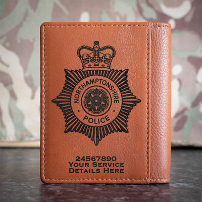 Northamptonshire Police Credit Card Wallet