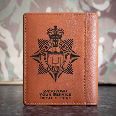 Northumbria Police Credit Card Wallet