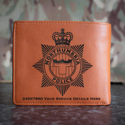 Northumbria Police Leather Wallet
