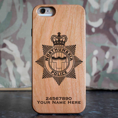 Northumbria Police Phone Case