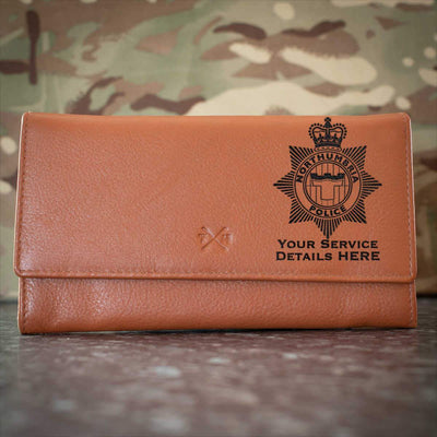 Northumbria Police Leather Purse