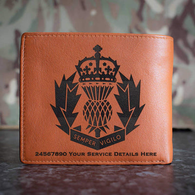 Police Scotland Leather Wallet