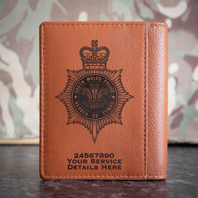 South Wales Police Credit Card Wallet