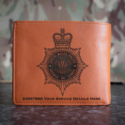 South Wales Police Leather Wallet
