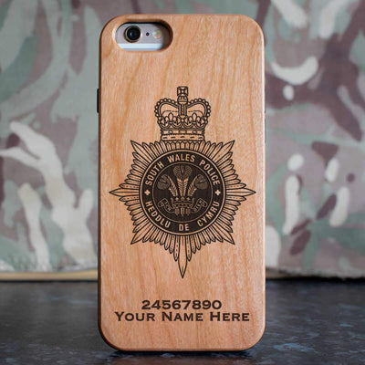 South Wales Police Phone Case