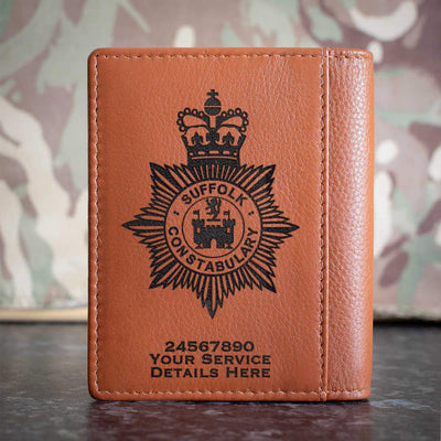 Suffolk Police Credit Card Wallet