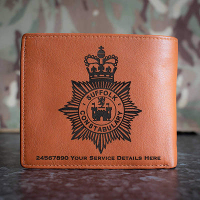 Suffolk Police Leather Wallet