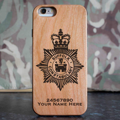 Suffolk Police Phone Case