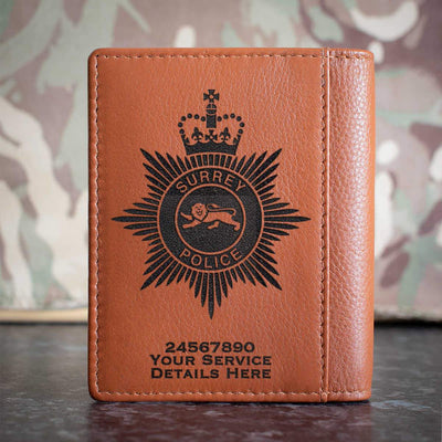 Surrey Police Credit Card Wallet