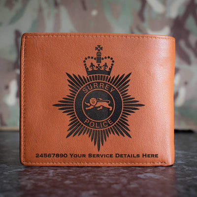Surrey Police Leather Wallet