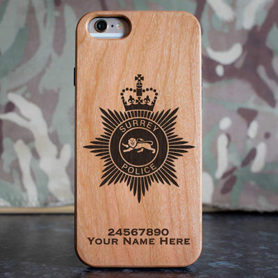 Surrey Police Phone Case