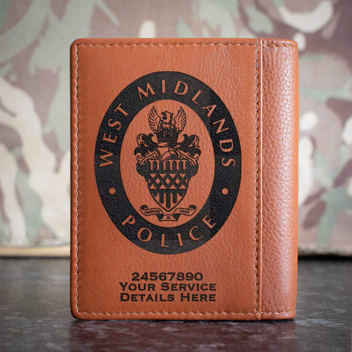 West Midlands Police Credit Card Wallet
