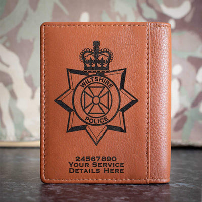 Wiltshire Police Credit Card Wallet