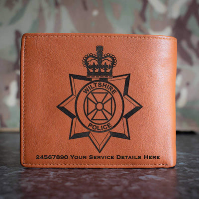 Wiltshire Police Leather Wallet