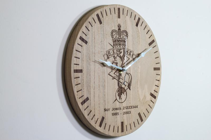 Oak Clock Detail 4