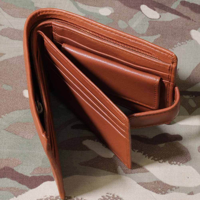 13th 18th Royal Hussars Leather Wallet