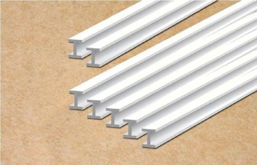 Styrene Plastic Strip: I Beam Section