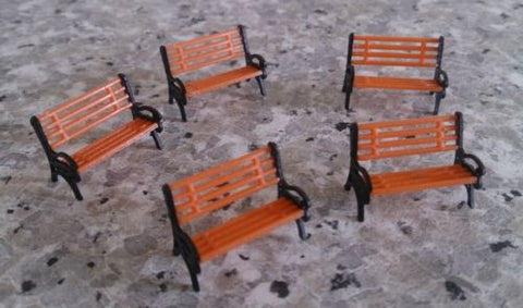 1:75 Scale (OO Gauge Model Railway) Benches