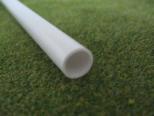 Styrene Plastic Strip: Round Tube Section, 2mm - 10mm