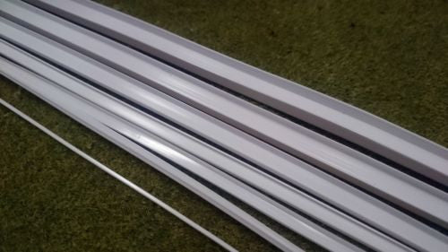 Styrene Plastic Strip: Channel U Section