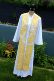 Story Stoles Gold Marriage Clergy Stole