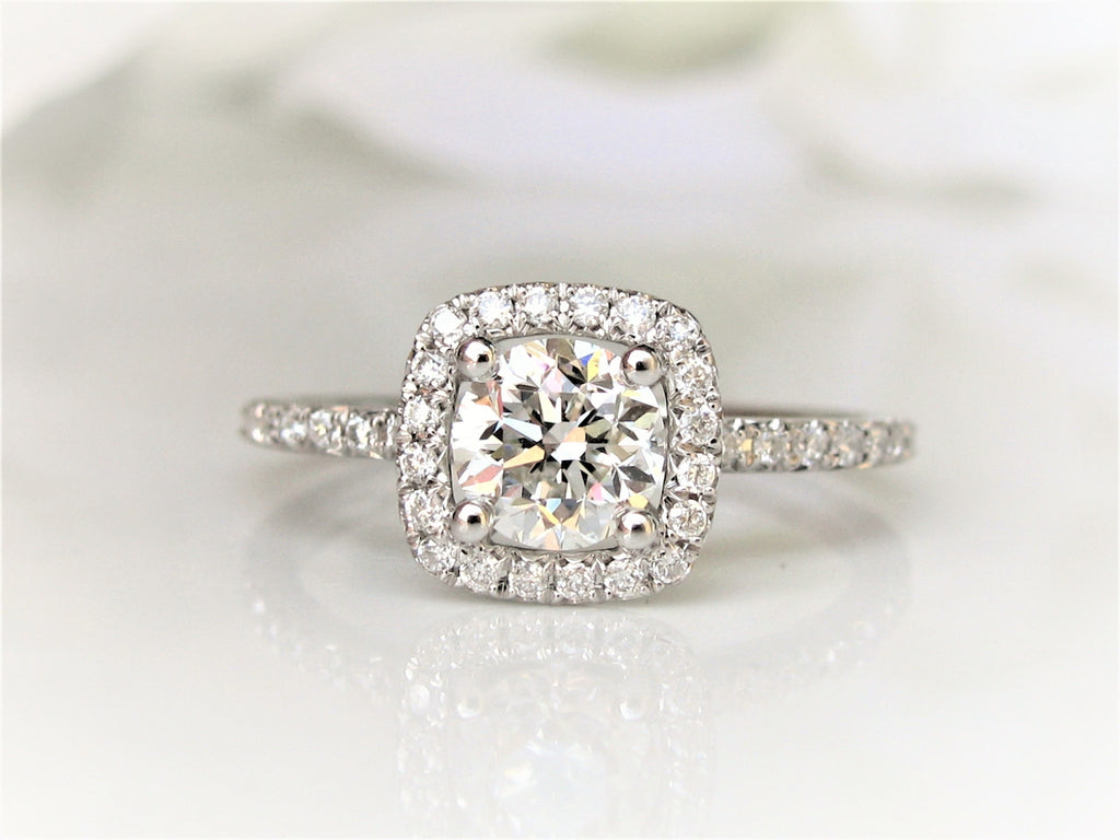 white jewellery and gold ring round ctw engagement rings diamond calista
