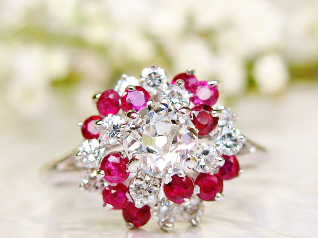 shaped ring pear ruby anniversary love rose gold promise rings heart halo knot engagement antique multistone il cluster diamond