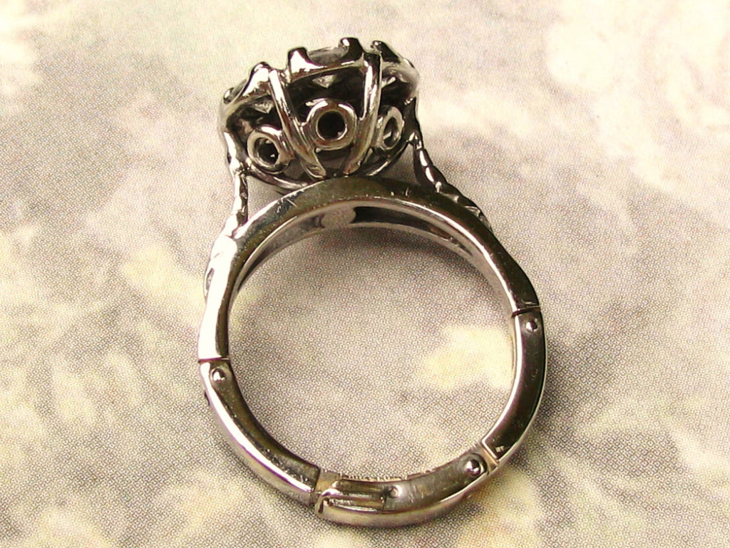 daisy o itm plat diamond amp cluster rings antique vintage gold ring engagement edwardian