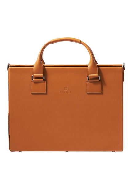 Arroe Briefcase - Rust Brown