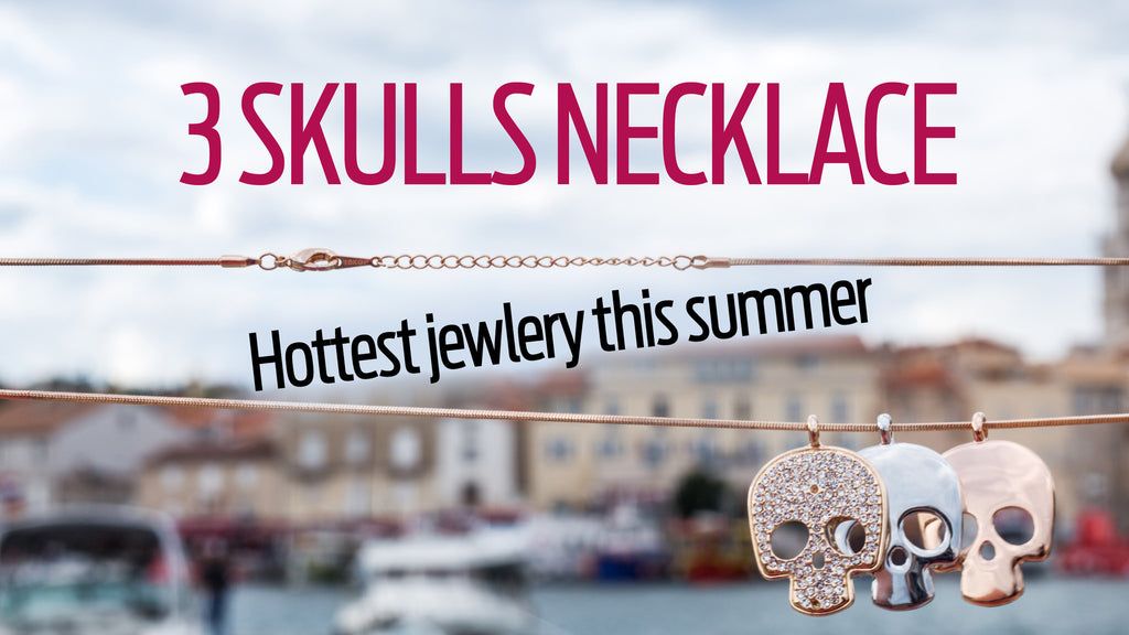 PERFECT SUMMERTIME SKULL JEWELRY! #dontlikeit #loveit