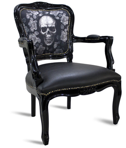 Wooden Skull Chair ...