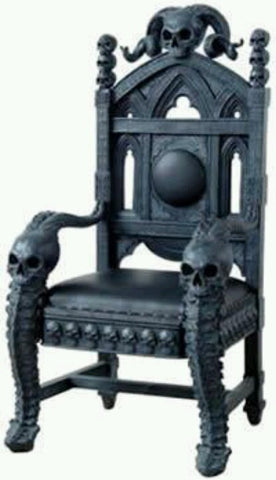 Delicieux Gothic Skull Chair Skull Chair Skull Chair
