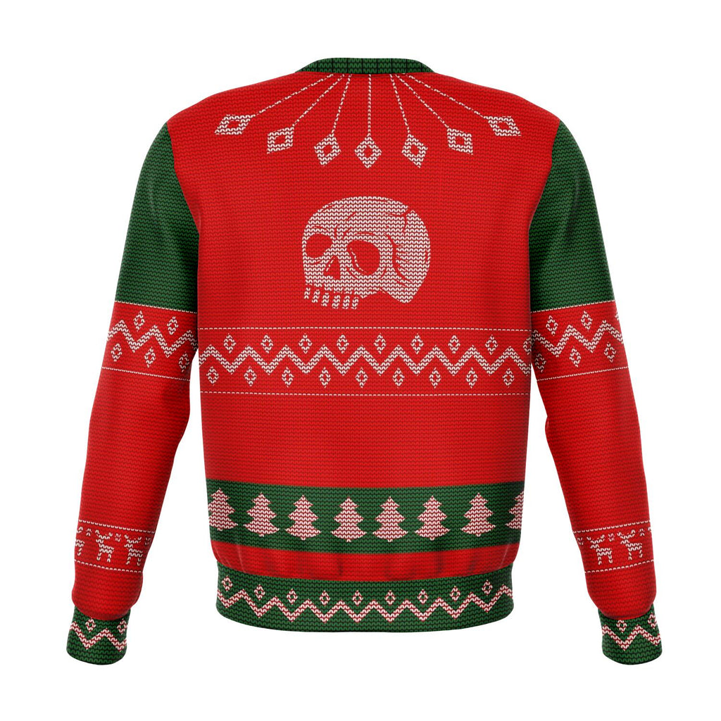 Ho Ho Ho Skullistic Ugly Christmas Sweater