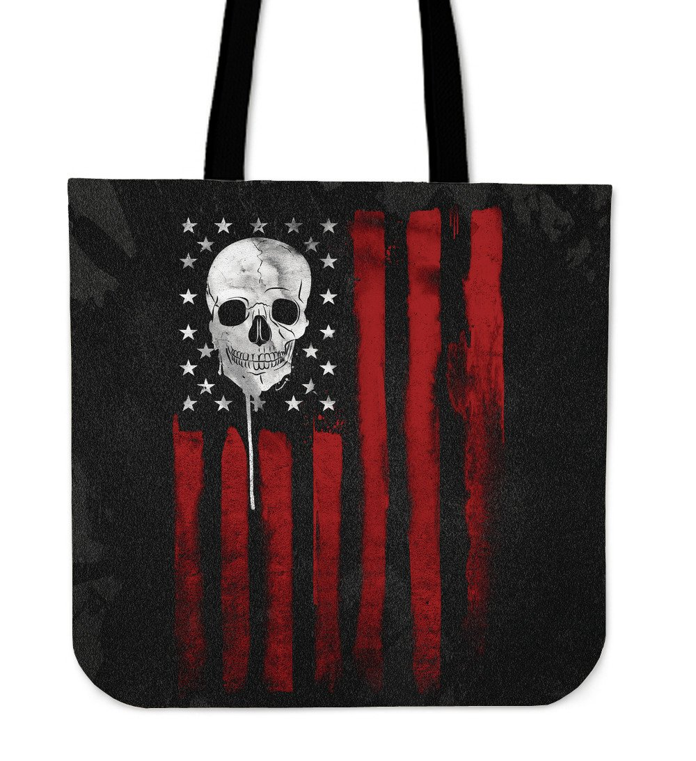 American Skull Nation Tote Bag
