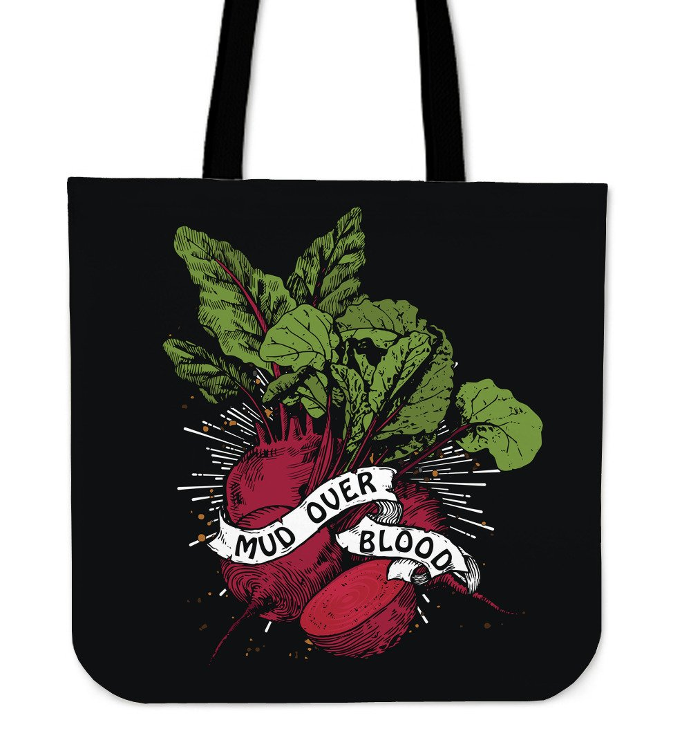Mud Over Blood Beet Tote Bag