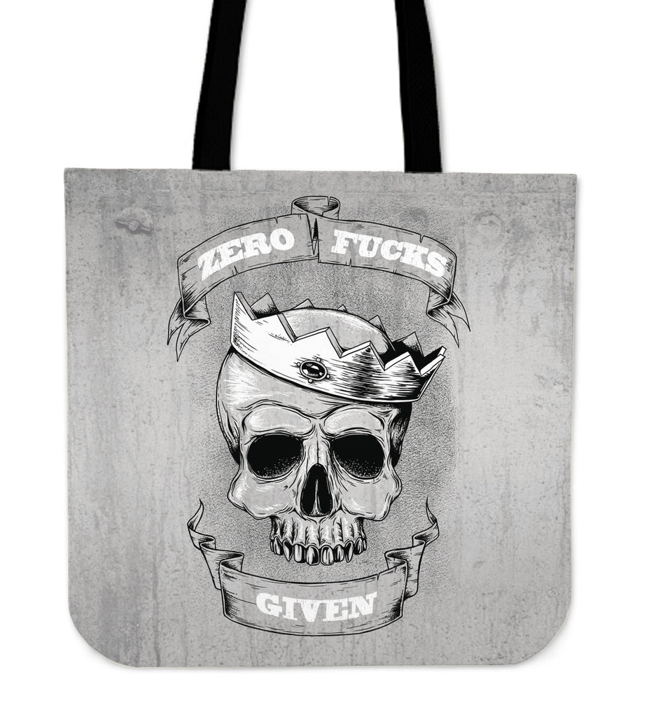 Zero F*ck Given Tote Bag