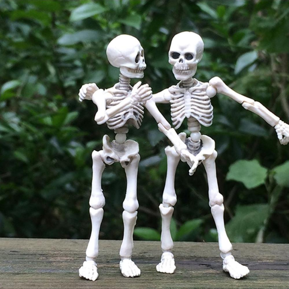 Movable Skeleton Mini Figure Halloween