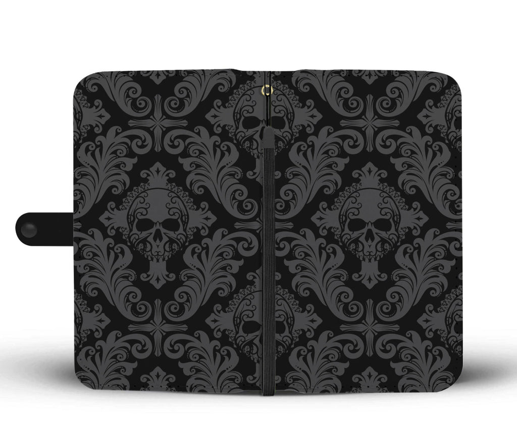 Gothic Skull Wallet Phone Case