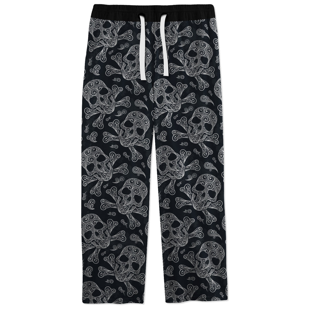 Skullistic Skulls And Bones Cotton Pajama Pants