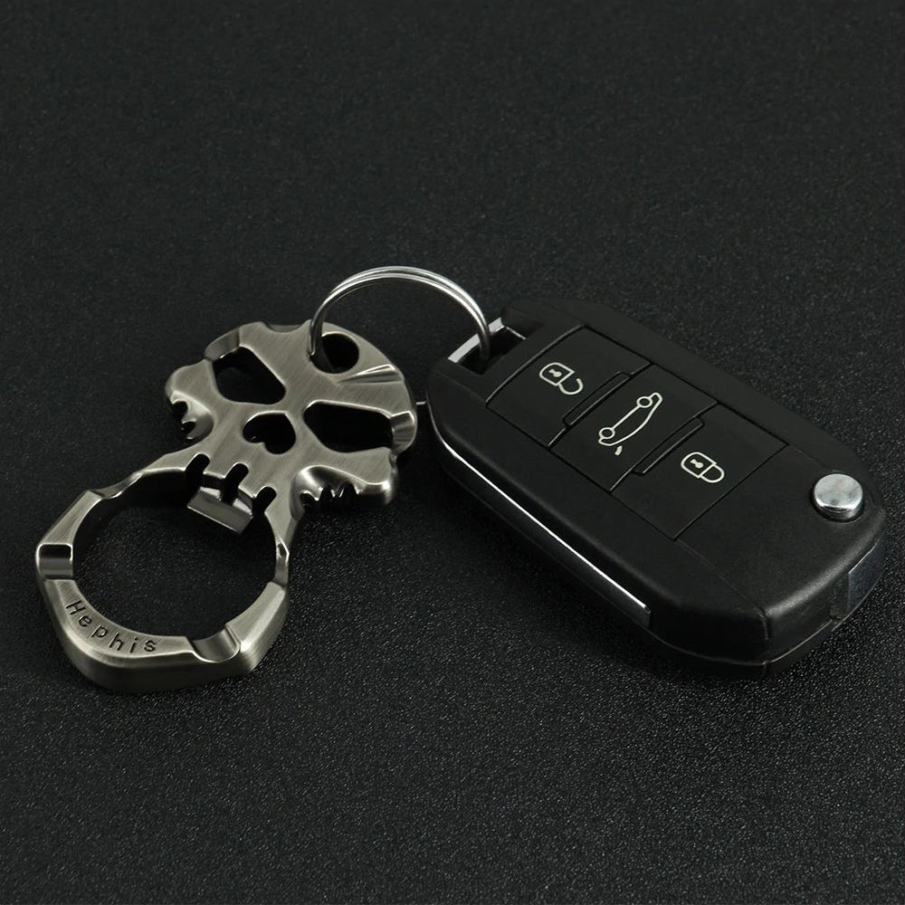 Skull Key Chain and Bottle Opener
