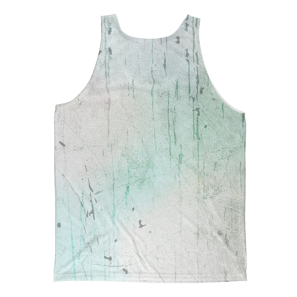 Unicorn Skull Turquoise Sublimated Tank Top