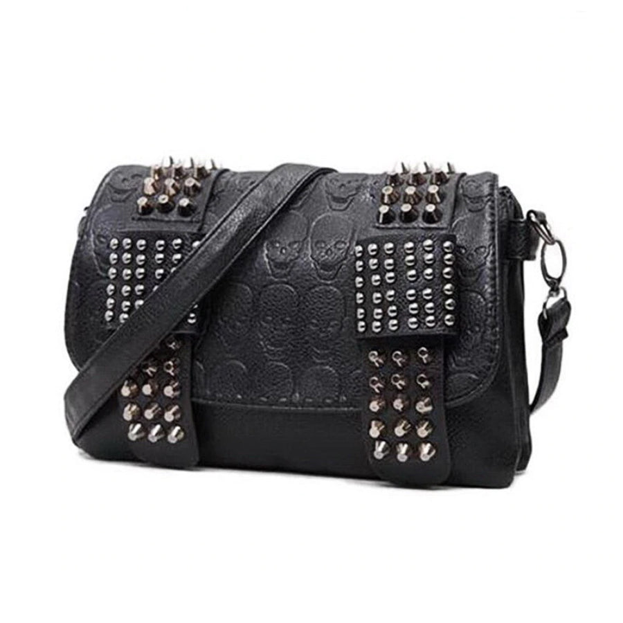 Skulls and Studs Women's Purse