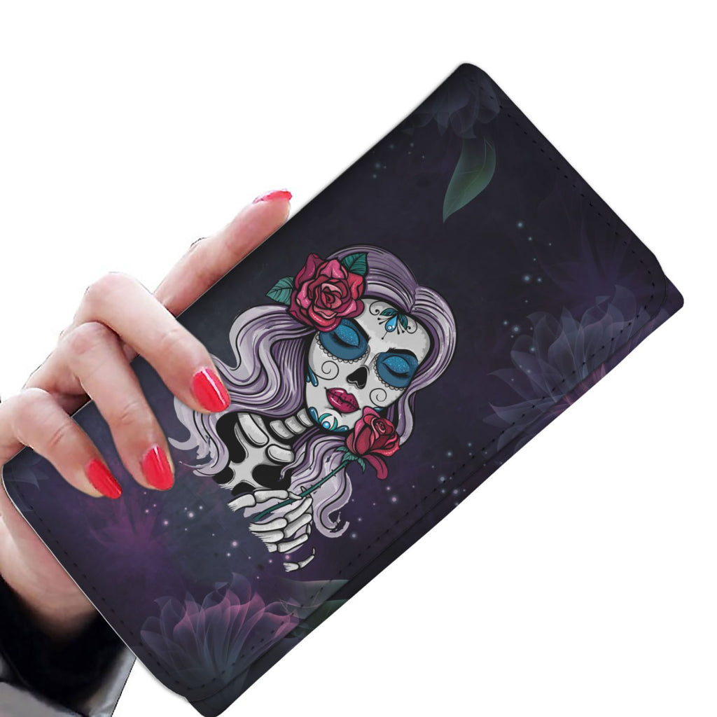 Day Of The Dead Skullistic Women's Wallet
