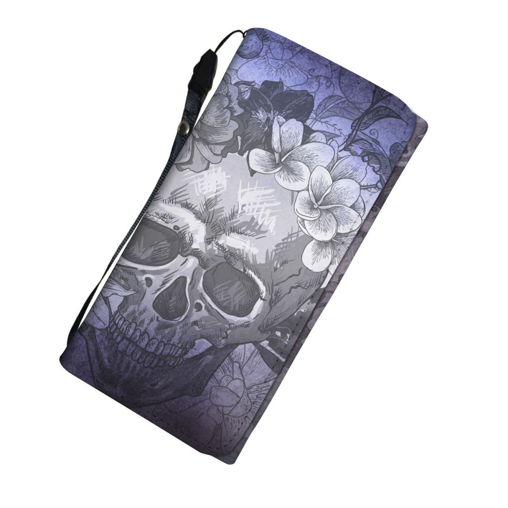 Purple Dream Skull Women's Wallet