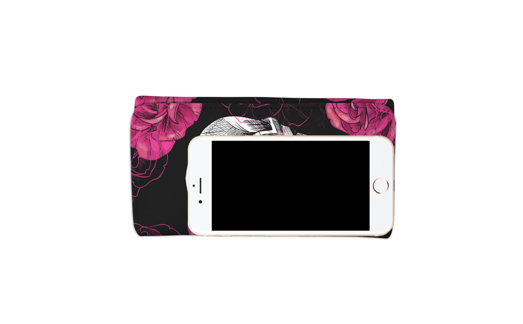 Rose Skull Women's Wallet